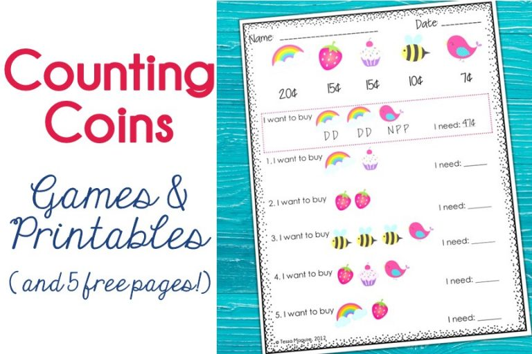 Counting Coins resources