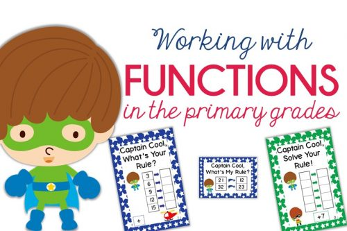 working with functions in primary grades