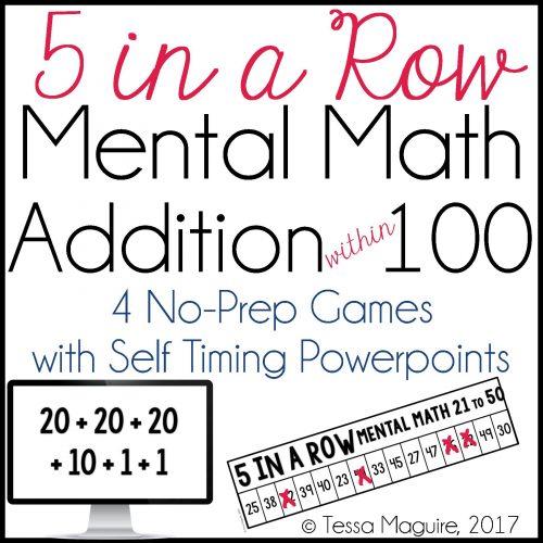 Mental Math/Ship counting game