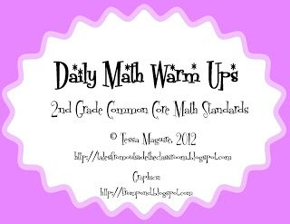 2nd Grade Common Core Math Standards