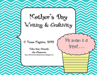 New blog design and Mother's Day Craftivity