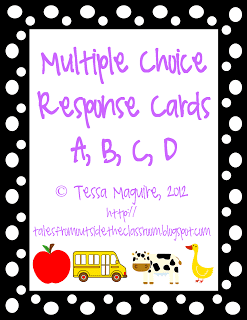 Changing up Multiple Choice!