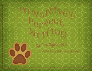 Pawsitively Perfect Writing