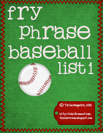 Fry Phrase Baseball