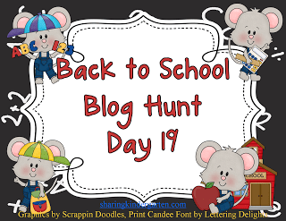 Back to School Blog Hunt