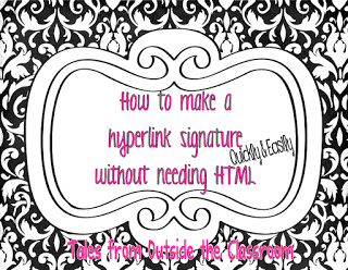 How to Make a Hyperlink Signature