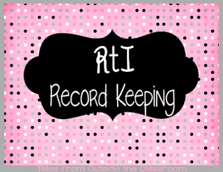 RtI Record Keeping