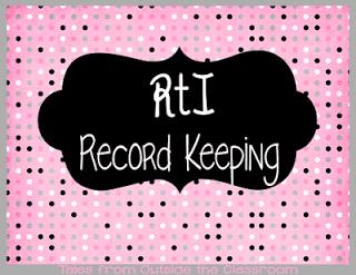 RtI Record Keeping