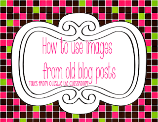How to reuse blog images