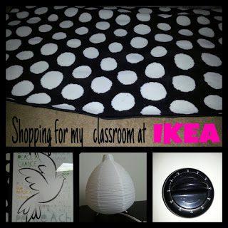 IKEA and Classroom Decor