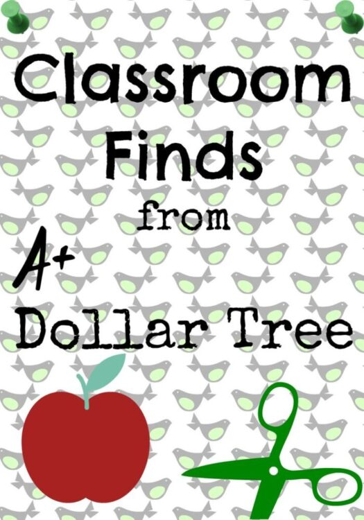 Classroom Finds at Dollar Tree