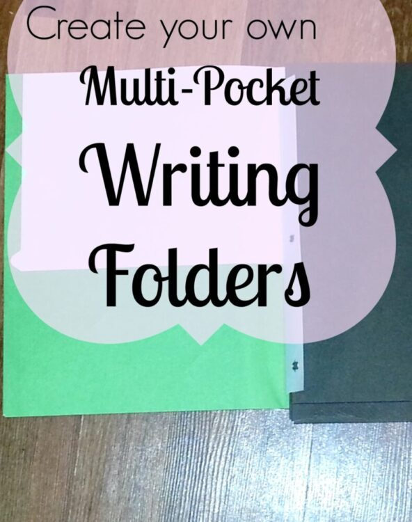 Writing Process Folders {and a freebie!}