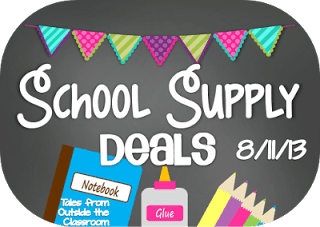 School Supply Deals for the Week of August 11