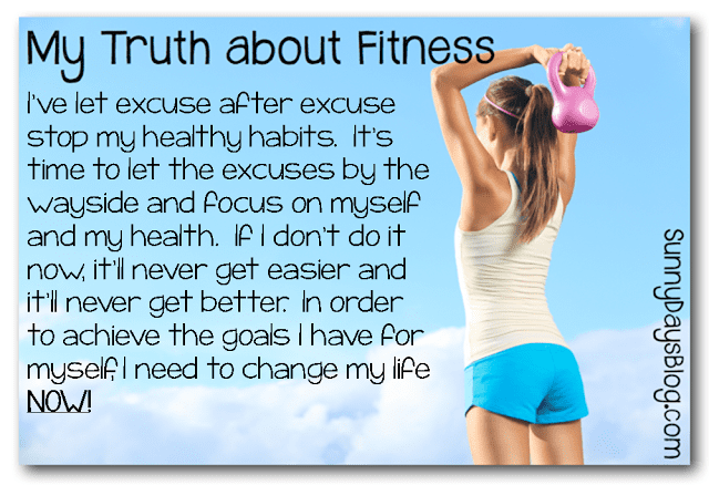 My Truth Monday- Fitness