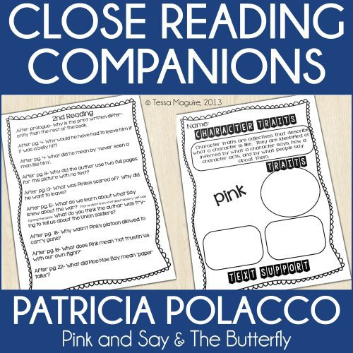 Patricia Polacco Close Reading Companion