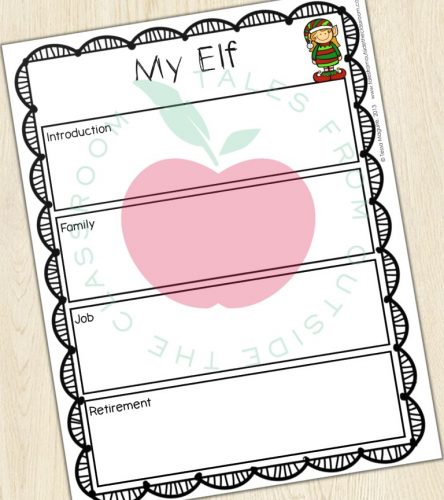 Elf biography graphic organizer