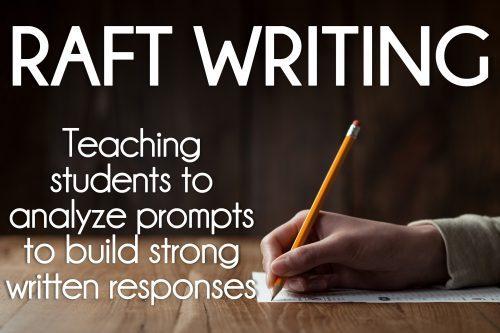 RAFT Writing in Elementary