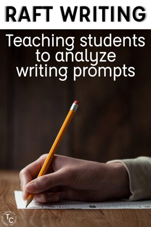 RAFT Writing Strategy