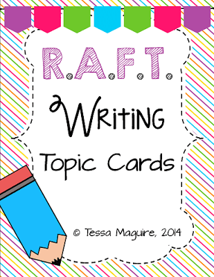 RAFT Writing | Tales from Outside the Classroom