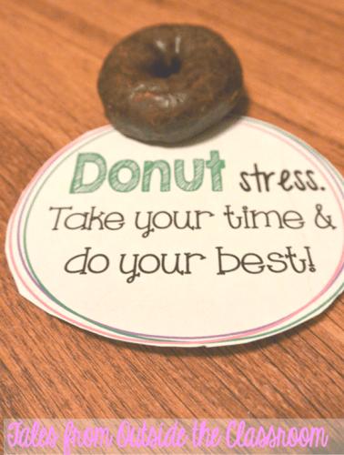 Donut stress testing encouragement
