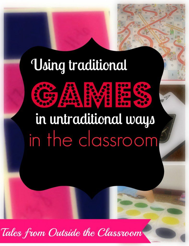 Ideas for using traditional board games in untraditional ways in the classroom