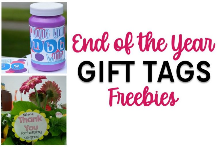 End of the Year Freebies for Teachers