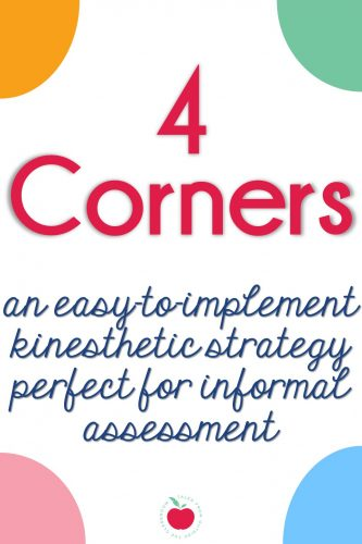 4 Corners assessment strategy
