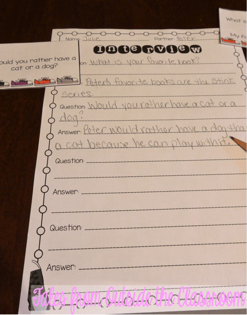 Ideas to help kids Restate the Question in the Answer – Restating the Question Worksheets