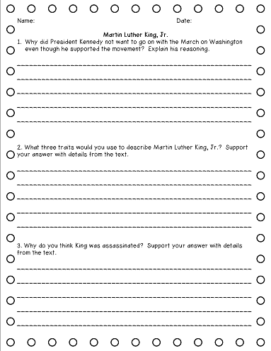 7th grade essay worksheets