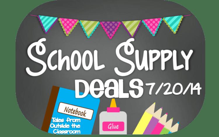 School Supply Deals: Week of 7/20