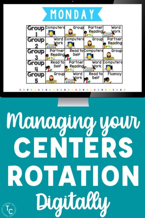 managing your centers rotation digitally