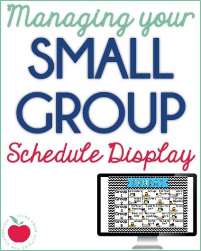 Small Group Display Management