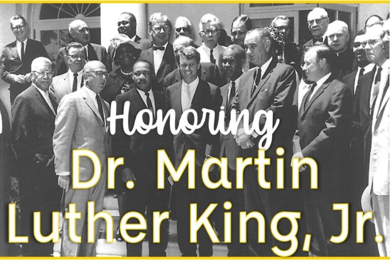 Martin Luther King Jr and political officials
