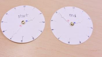 Teaching Elapsed Time- Concretely