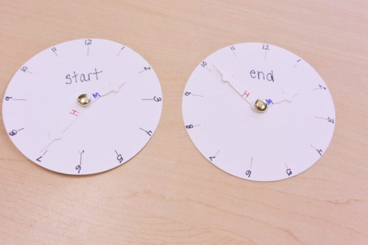 Teaching Elapsed Time- Concretely