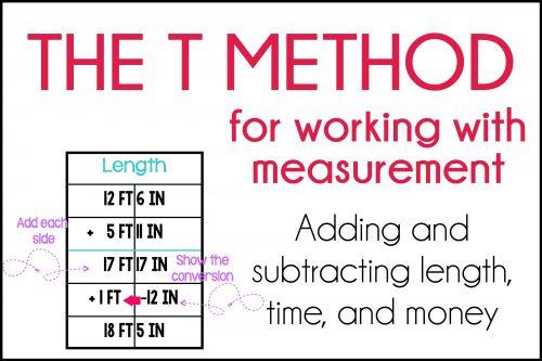 T Method for Measurement Conversions