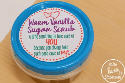 Mother's Day Warm Vanilla Sugar Scrub