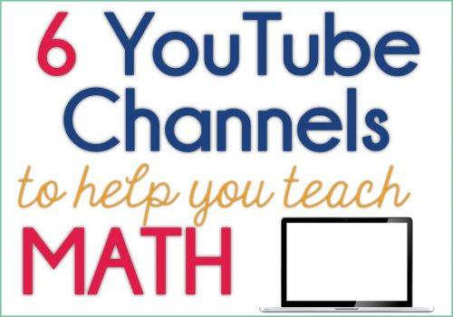 YouTube math channels