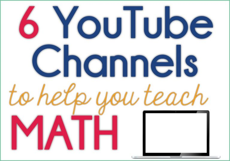 YouTube math channels