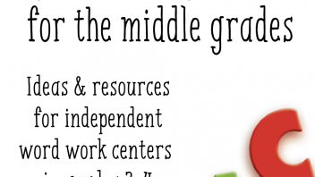 Word Work in the Middle Grades