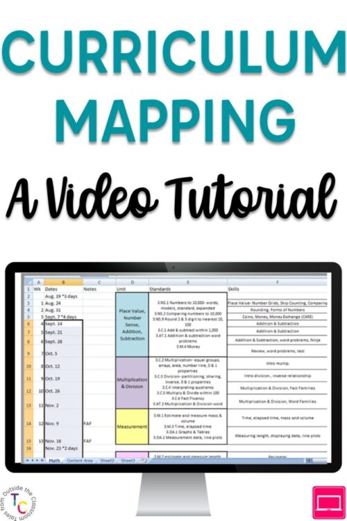 Curriculum Mapping: A Video Tutorial