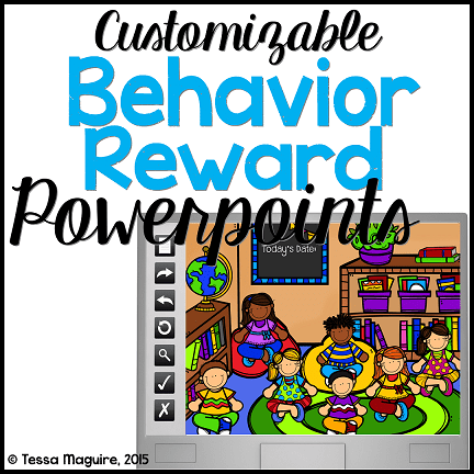 Whole class behavior reinforcement system