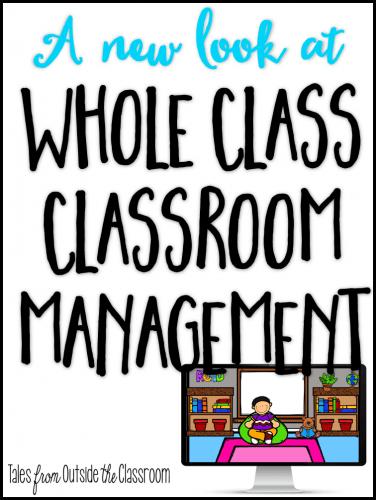 Whole Class Classroom Management Reinforcement