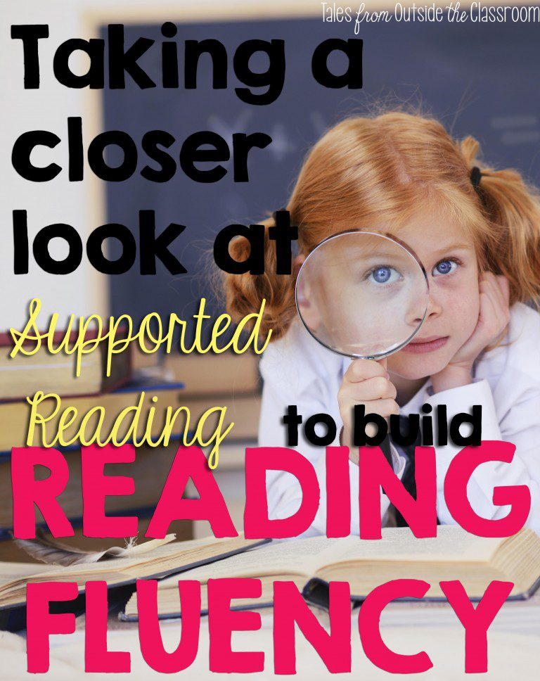 Reading Fluency with Support Reading