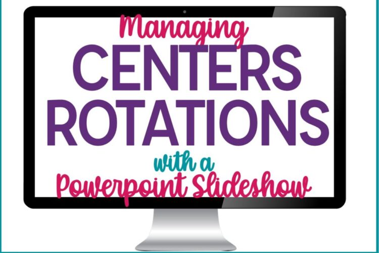 Centers Rotation Powerpoint