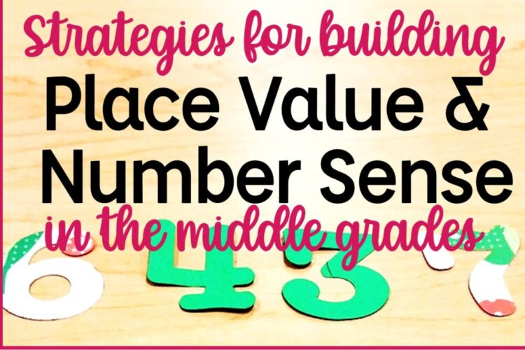 Number Sense and Place Value blog post