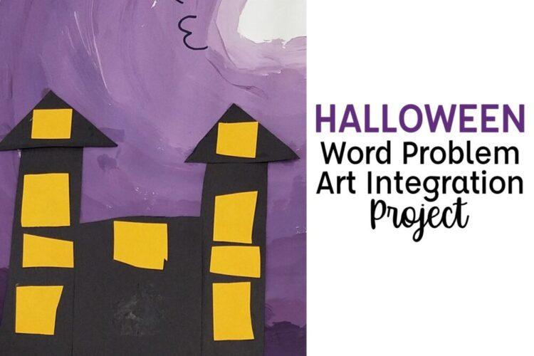 Halloween Word Problem Integration Project