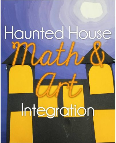 Haunted house art project