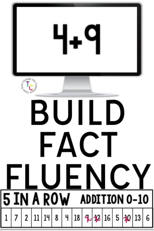 Build fact fluency with this fun math game