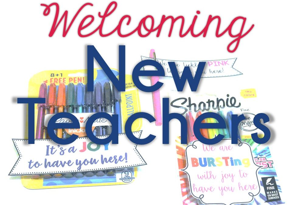 Welcoming New Teachers